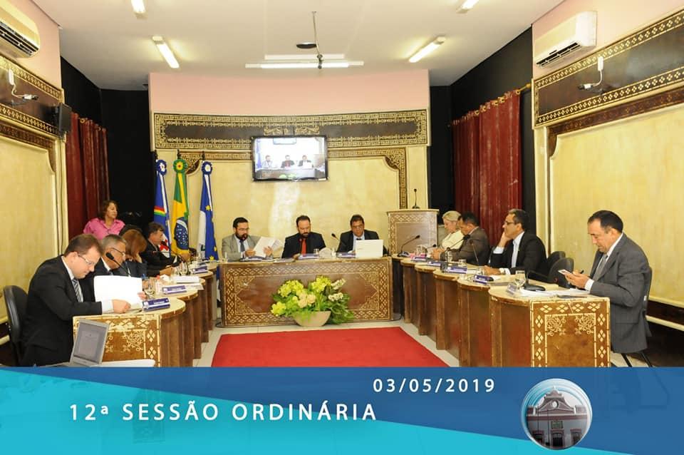 12ª sessão ordinária é realizada na Câmara de Salgueiro