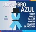 A Câmara de Salgueiro adere à Campanha do Novembro Azul