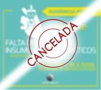 Audiências cancelada e adiada