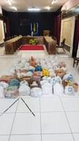 Câmara de Vereadores de Salgueiro entrega 1 tonelada de alimentos arrecadados pela Campanha 'Doe Alimentos, esperança e vida- No combate da Pandemia Vamos Combater a Fome'!