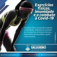 Exercícios Físicos, Imunidade e o Combate à Covid-19!