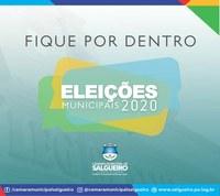 Fique por dentro das eleições municipais