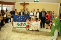 Francês presidente de ONG Terre Des Hommes Alsace com muitos serviços prestados ao município, recebe título de Cidadão Salgueirense
