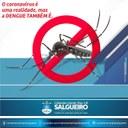 O Coronavírus é uma realidade, mas a Dengue também é!