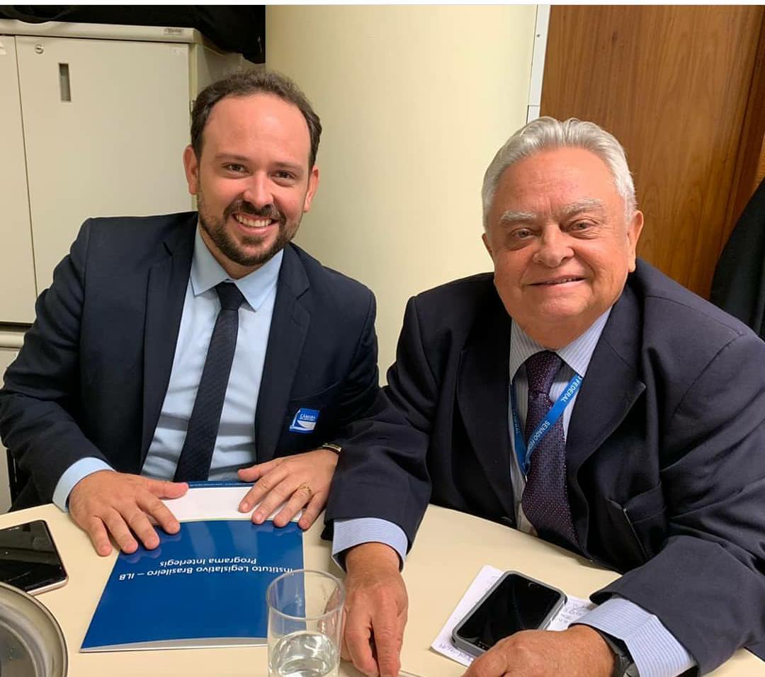 Presidente George visita Instituto Legislativo Brasileiro