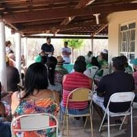 Vereador Bruno Marreca participou de reunião com associados dos sítios Várzea Redonda, Umari e Mutuca