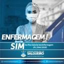 Vereadores de Salgueiro apoiam PL 2.564 que valoriza os Profissionais da Enfermagem!